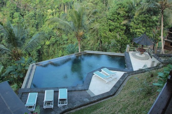 Beji Ubud Resort:                                     few steps down to this amazing pool