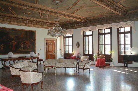 Ca' Zanardi: Le salon du premeir étage