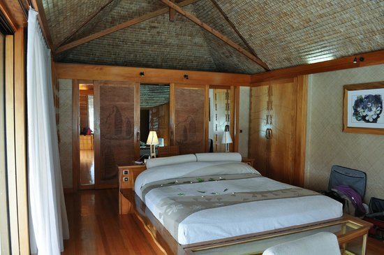Le Taha'a Island Resort & Spa: Bungalow 43