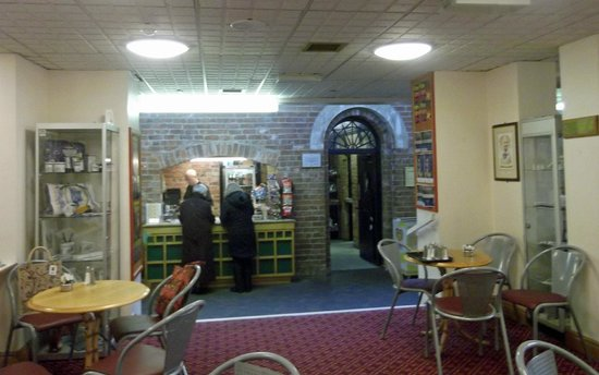 Guildhall Arts Centre:                                     Coffee Shop in the old town jail