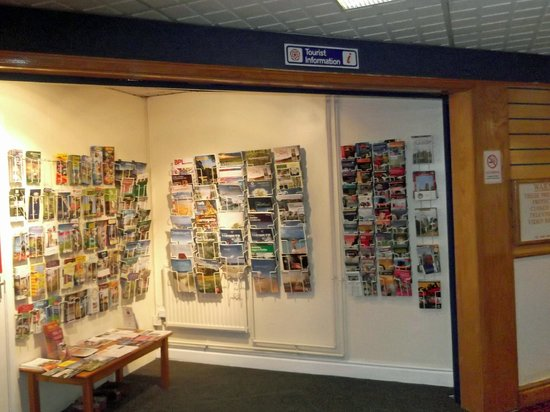 Guildhall Arts Centre:                                     Tourist Information area