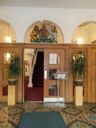 Guildhall Arts Centre:                                     Reception area with Box Office