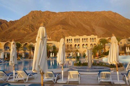 El Wekala Golf Resort:                   Tuż po wschodzie słońca