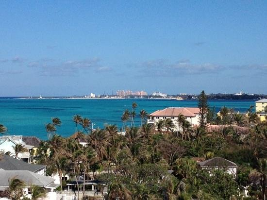 Sandals Royal Bahamian Spa Resort & Offshore Island:                                     view east from fitness center