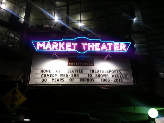 Unexpected Productions: Located at the Market Theater in Pike Place Market