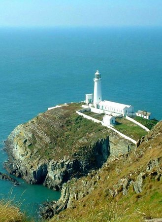 Anglesey, UK:                                                       lighthouse