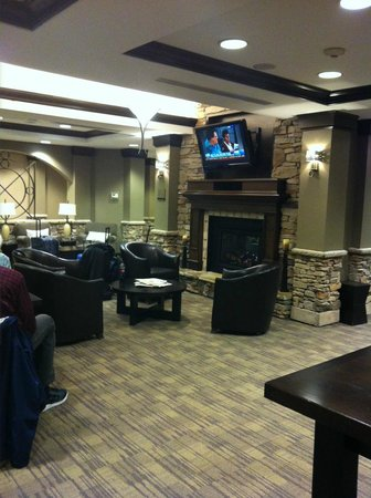 HYATT house Sterling/Dulles Airport-North: TV lounge area