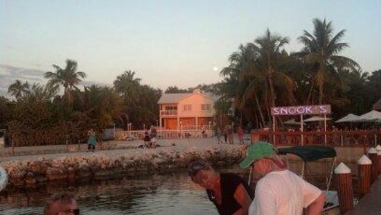 Bayside Inn Key Largo:                   View of the Hotel..
