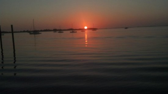 Bayside Inn Key Largo:                   Beautiful Sunset at Bayside Inn..