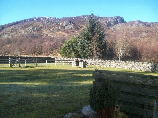 Highland Holiday Cottages:                   The cottages share a lovely communal garden