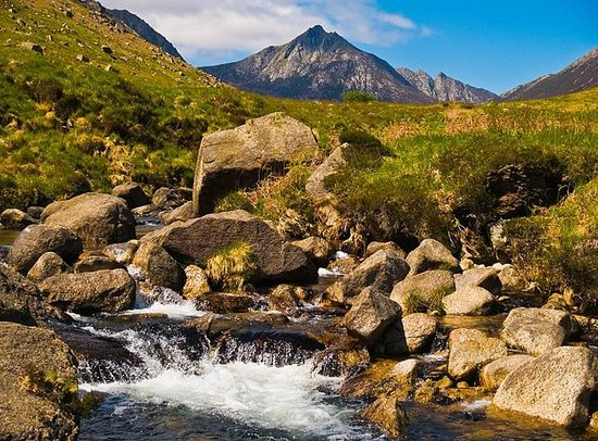 Isla de Arran, UK:                   Glen Rosa