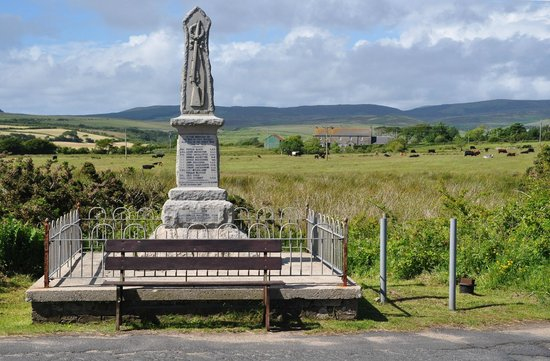 Isla de Arran, UK:                   WWI memorial