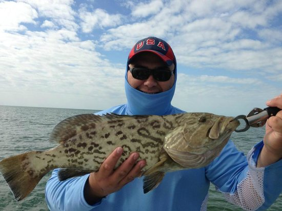 Shallow Tails Guide Service:                   Grouper Fishing with Capt. Raul Montoro