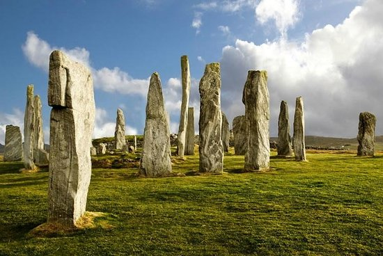 Isle of Lewis, UK : calanais stones