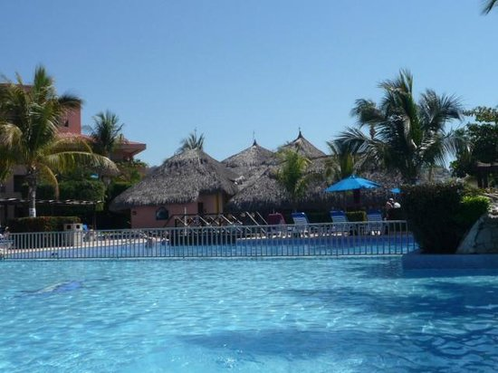 Barcelo Huatulco:                   view of pool section