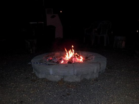 Lighthouse Lodge:                   Fire Pit