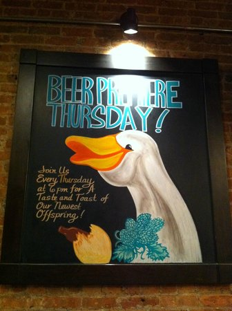 Goose Island Clybourn Brewpub: Cute Goose...