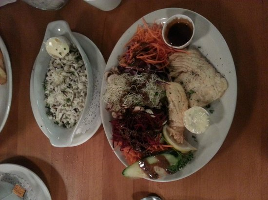 Rock Cod Cafe: Dinner extraordinaire