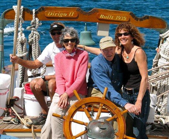 "San Juan Classic Day Sailing: Family reunion aboard the Schooner ""Dirigo II""!"
