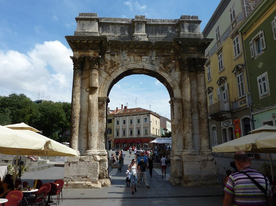 Pula, Croatia:                   Arco Di Sergio