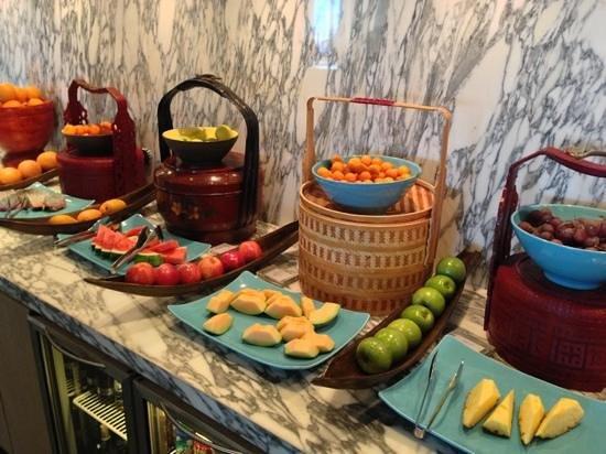 Hotel Indigo Shanghai on the Bund:                   Breakfast spread