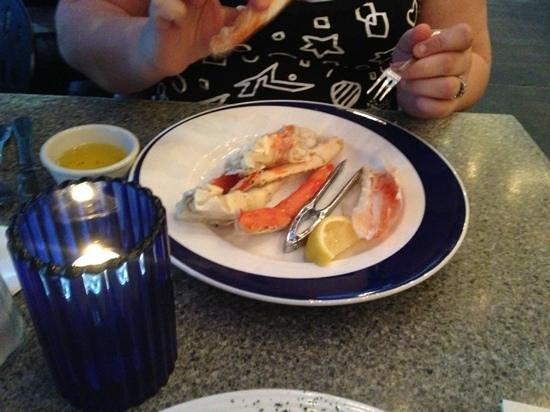 Blue Pointe Oyster Bar & Seafood Grill:                   some of the Alaskan crab there is lots more