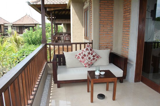 Bebek Tepi Sawah Villas & Spa:                   our balcony
