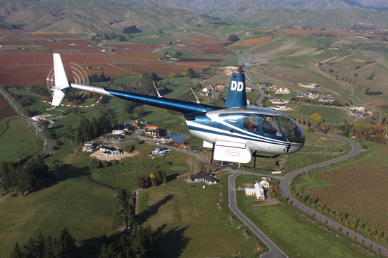 RidgeAir Fixed Wing and Helicopter Charters: Heli over  Magnificent Marlborough