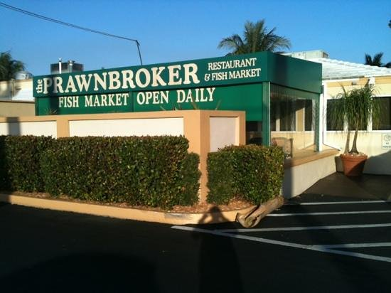 Sea scallops picture of prawnbroker restaurant and fish for Fish restaurant fort myers