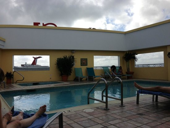 Sheraton Old San Juan Hotel:                   View from the roof