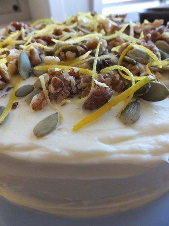 Tauranga Lodge: Gluten Free Carrot Cake