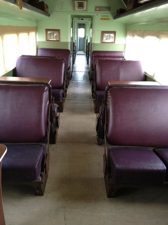 Tenterfield Railway Museum: Have a look in one of the old wagons