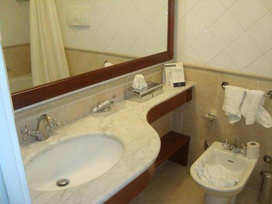 ATAHOTEL Linea Uno Residence:                   O banheiro da suíte