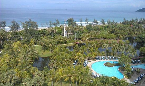 Hilton Phuket Arcadia Resort & Spa:                   View from Club