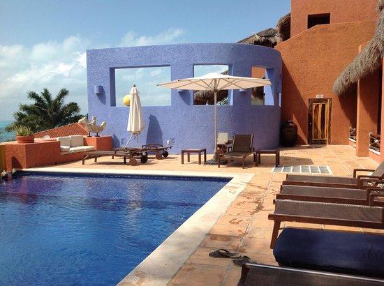 كاسا دي لوس سوينزو:                   The pool                 