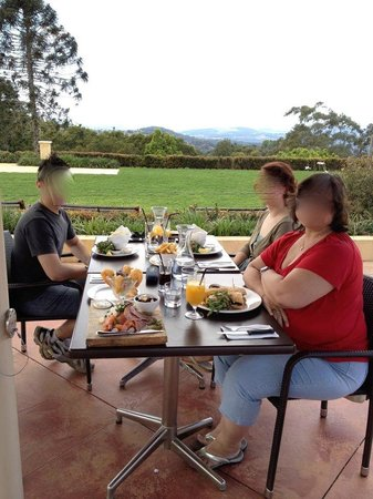 Flaxton Gardens Restaurant:                   Great views
