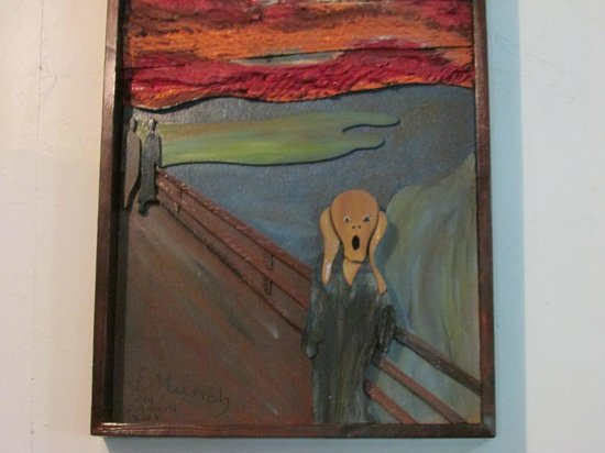 Solomon's Castle: The Scream Solomon's take