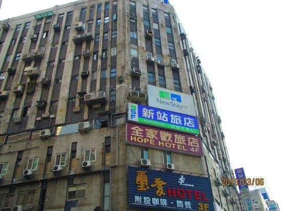 New Stay Inn:                   ホテル外観