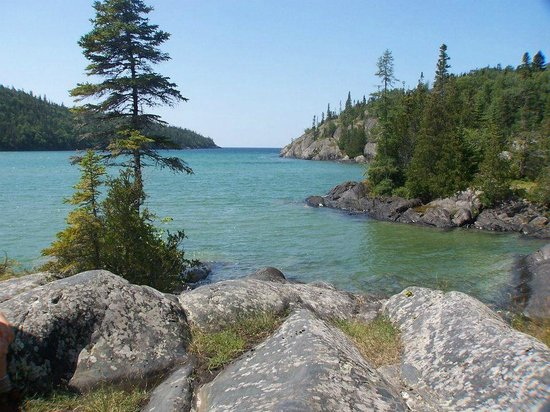 Worksheet. Willow River  Picture of Pukaskwa National Park Ontario