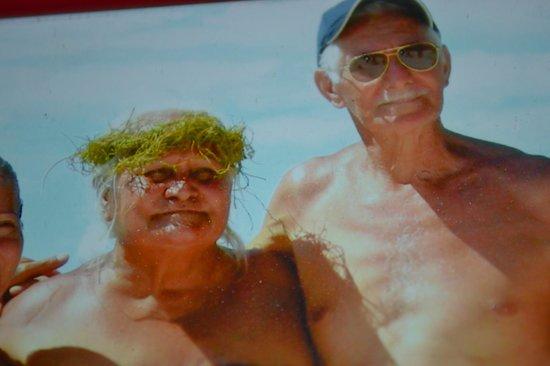 Pension Chez Rosina : rosina et samuel