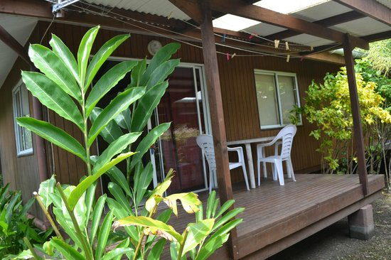 Pension Chez Rosina : terrasse du studio