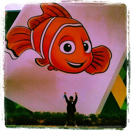 Disney's Art of Animation Resort:                                     nemo!