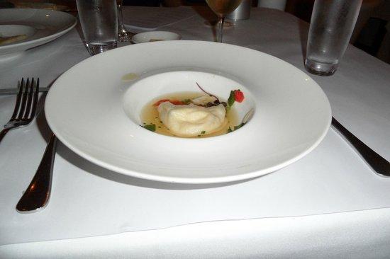 Berardo's Restaurant and Bar:                   Spanner Crab Raviolo