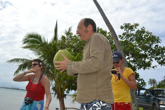 Pension Chez Rosina : pause coconut