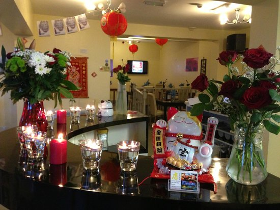 valentine's day decorations - picture of tang restaurant, preston, Ideas
