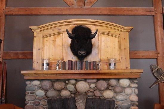 Buffalo Mountain Lodge: lobby
