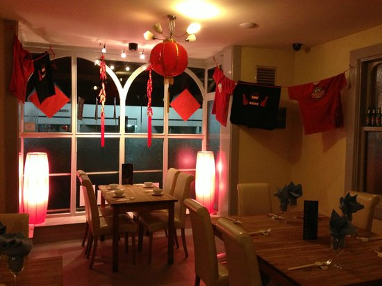 Chinese new year decorations picture of tang restaurant