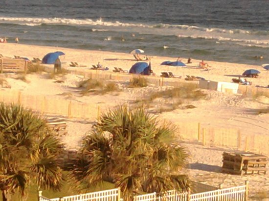 Hampton Inn Pensacola Beach: The beach right outside the back door!