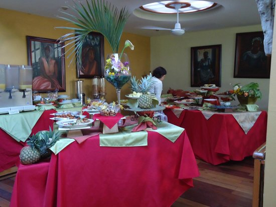 Hotel Aranjuez: breakfast buffet