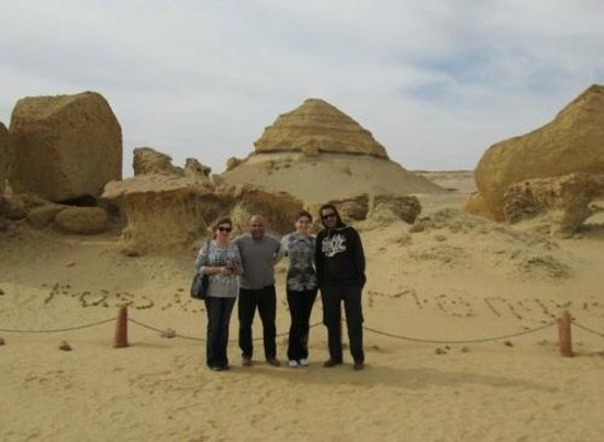 Egypt Fun Tours Day Trips:                   Valley of the Whales with our EFT friends!
